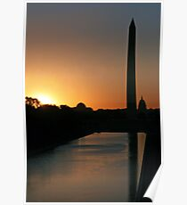 A Capitol Sunrise Poster