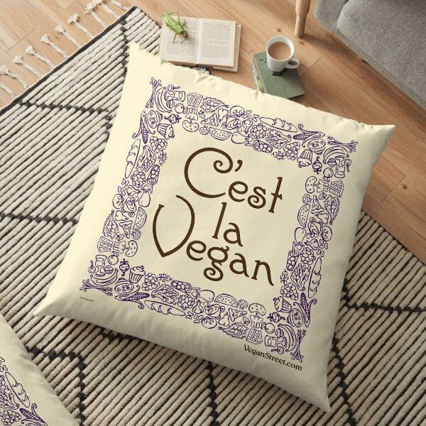 C'est la Vegan Floor Pillow