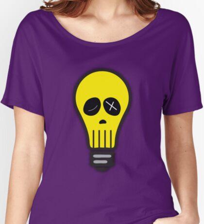 Bulb Skull Women's Relaxed Fit T-Shirt