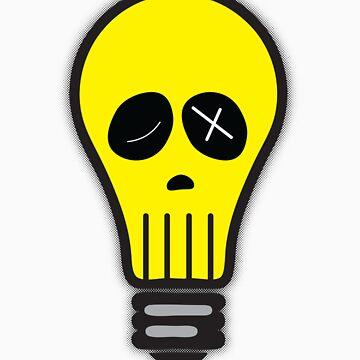 Bulb Skull by artz-one