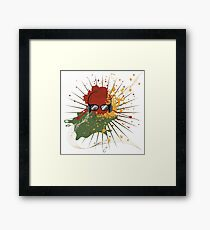 Male Dj Illustration 2 Framed Print
