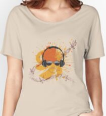 Male Dj Illustration Women's Relaxed Fit T-Shirt