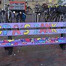 GRANDPA'S BENCH by RainbowArt