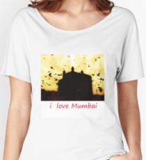 i Love Mumbai - Mumbai Meri Jaan Women's Relaxed Fit T-Shirt