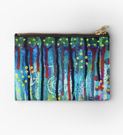 Swimming Through Inspiration : Inner Power Painting Studio Pouch