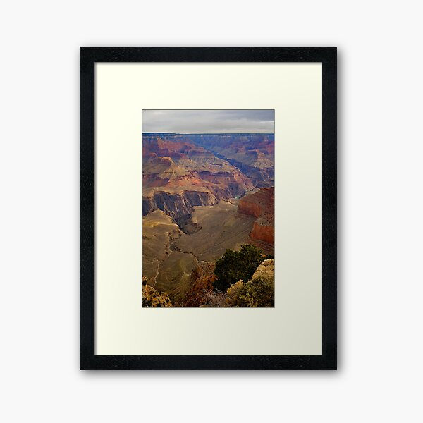 Grand Canyon National Park Birds Eye View Framed Art Print