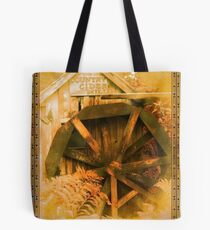 Country Cider Mill Water Wheel Tote Bag
