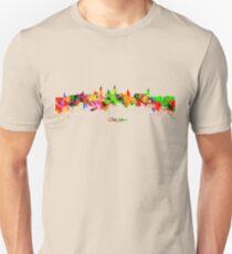 Glasgow Watercolor skyline T-Shirt
