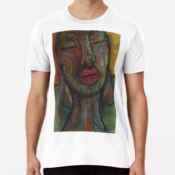 Pastel Portrait - S42 Premium T-Shirt