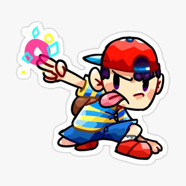 Ness from Earthbound Sticker