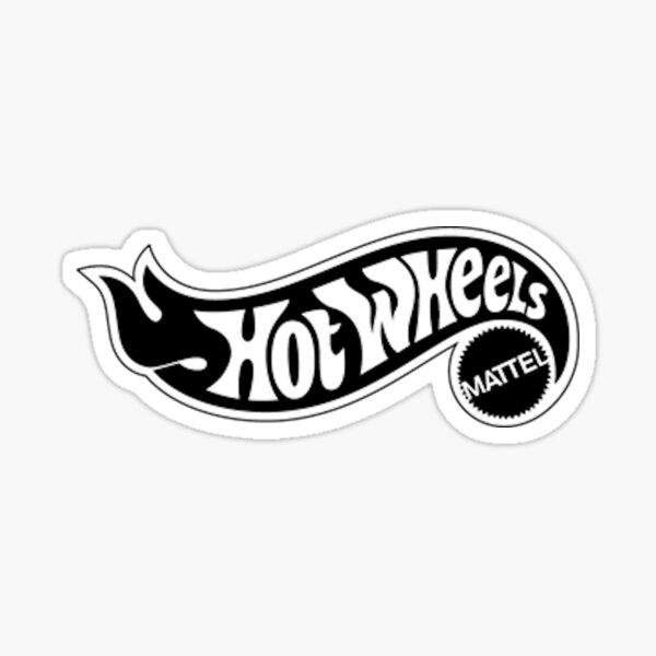 Logotipo de Hot Wheels Pegatina