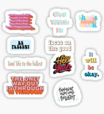 vsco quote pack Sticker