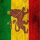 Vintage Rasta Flag by iEric