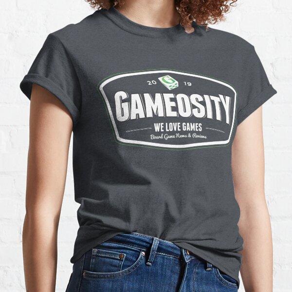 Gameosity Retro Logo 3 Classic T-Shirt
