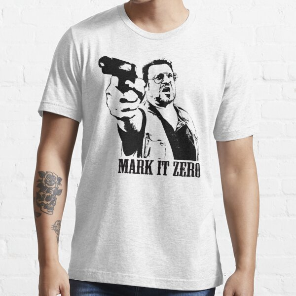 Le T-shirt Big Lebowski Mark It Zero T-shirt essentiel