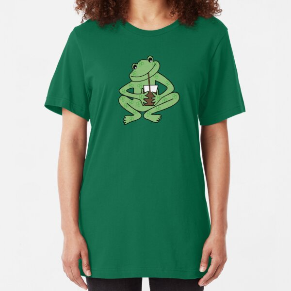 NDVH Alberto Frog Slim Fit T-Shirt