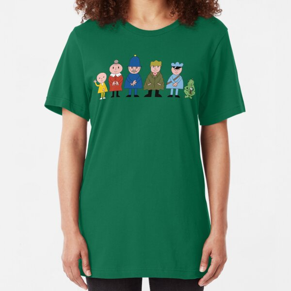 NDVH Bod and friends Slim Fit T-Shirt