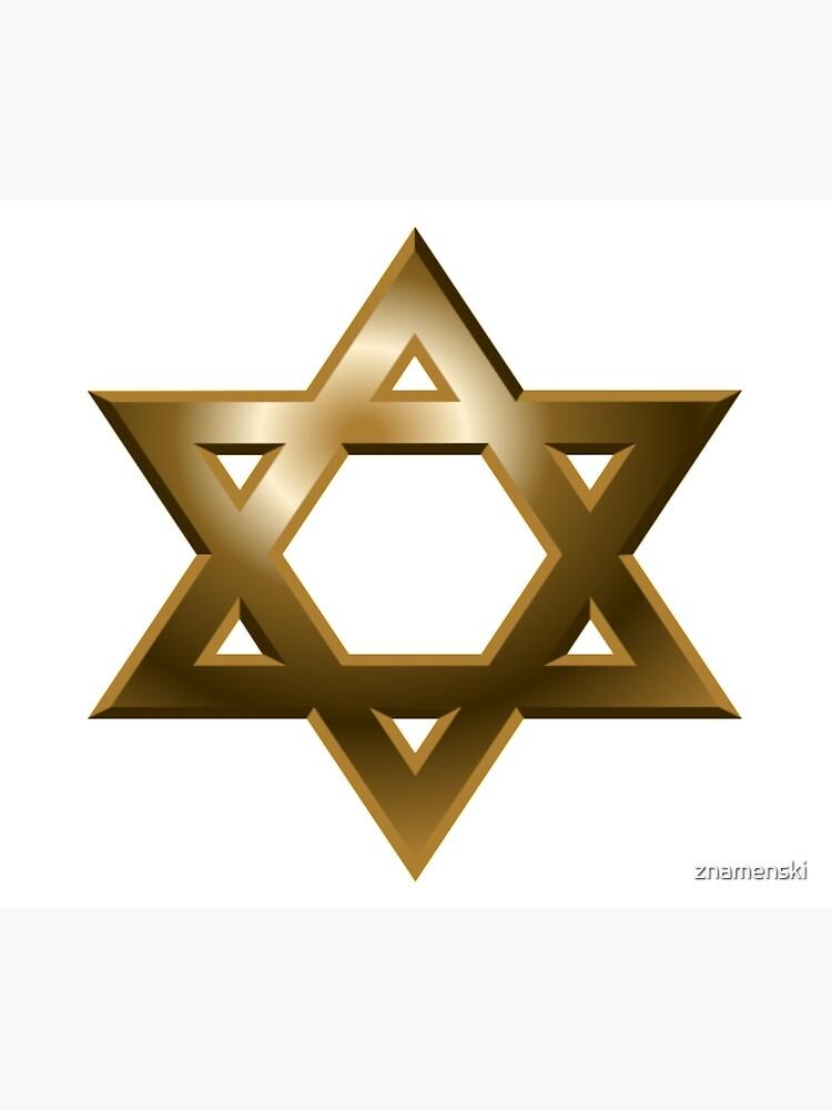 #Star of #David #Kippah by znamenski
