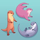 Small-clawed Otter by Tami Wicinas