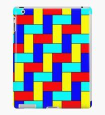 Vintage Multicoloured Pattern iPad Case/Skin