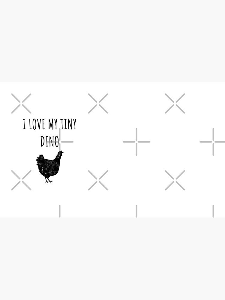 Tiny Dino - Funny Chicken Gift for Chicken Farmers  von greatshirts