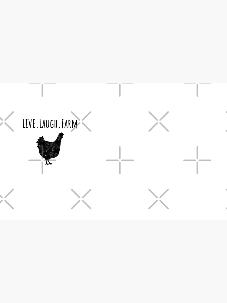 Live Laugh Farm - Funny Chicken Gift for Chicken Farmers  von greatshirts