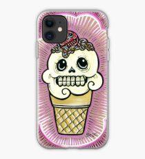 Ice Cream in Pink iPhone Case