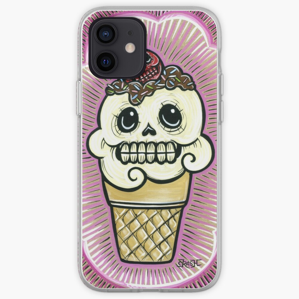Ice Cream in Pink iPhone Case & Cover