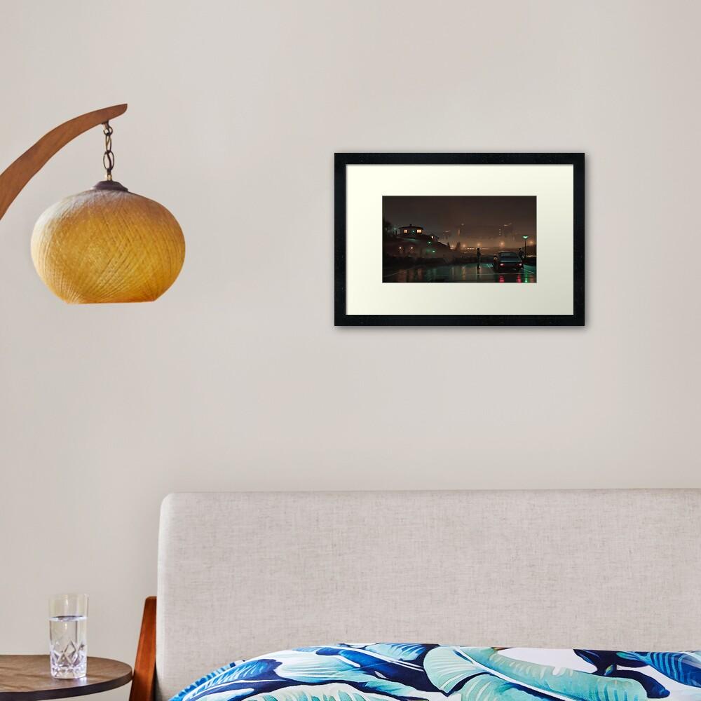 Gaussfraktarna Framed Art Print