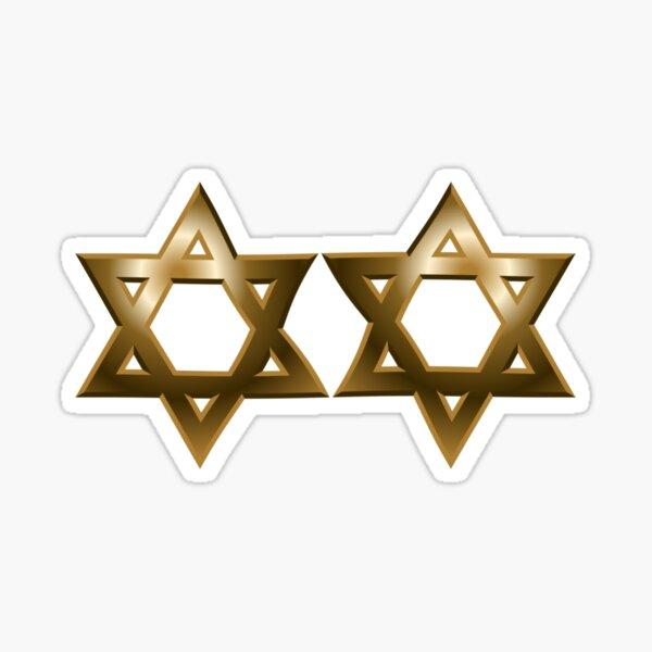 #Star of #David #Kippah Sticker