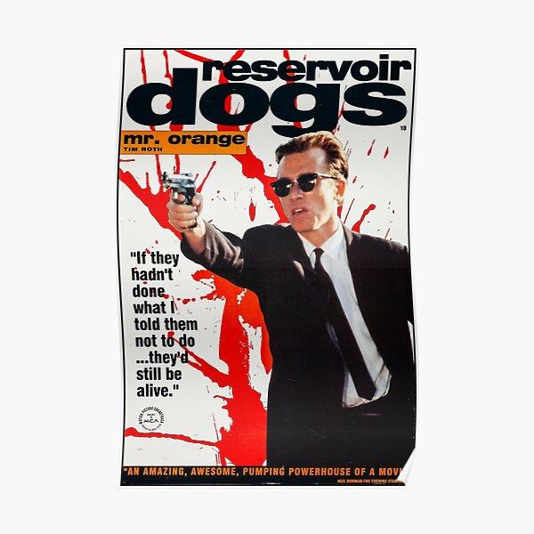 Affiche de chiens de réservoir Poster