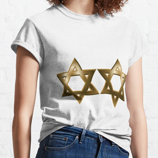 #Star of #David #Kippah Classic T-Shirt