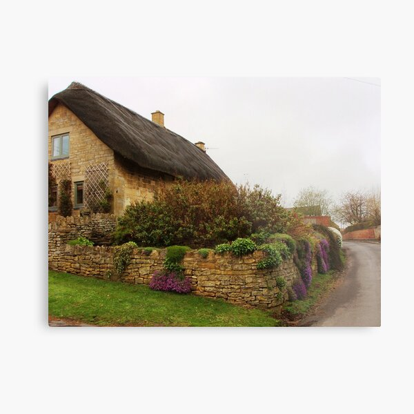Cotswold Cottage Metal Print