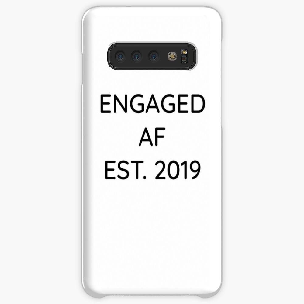 Engaged AF Est 2019 - Cute Wedding Gifts for Brides Grooms  Hülle & Klebefolie für Samsung Galaxy