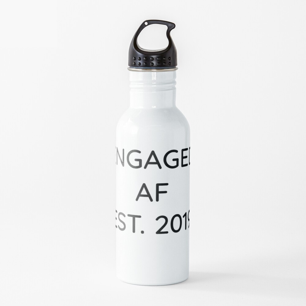 Engaged AF Est 2019 - Cute Wedding Gifts for Brides Grooms  Trinkflasche