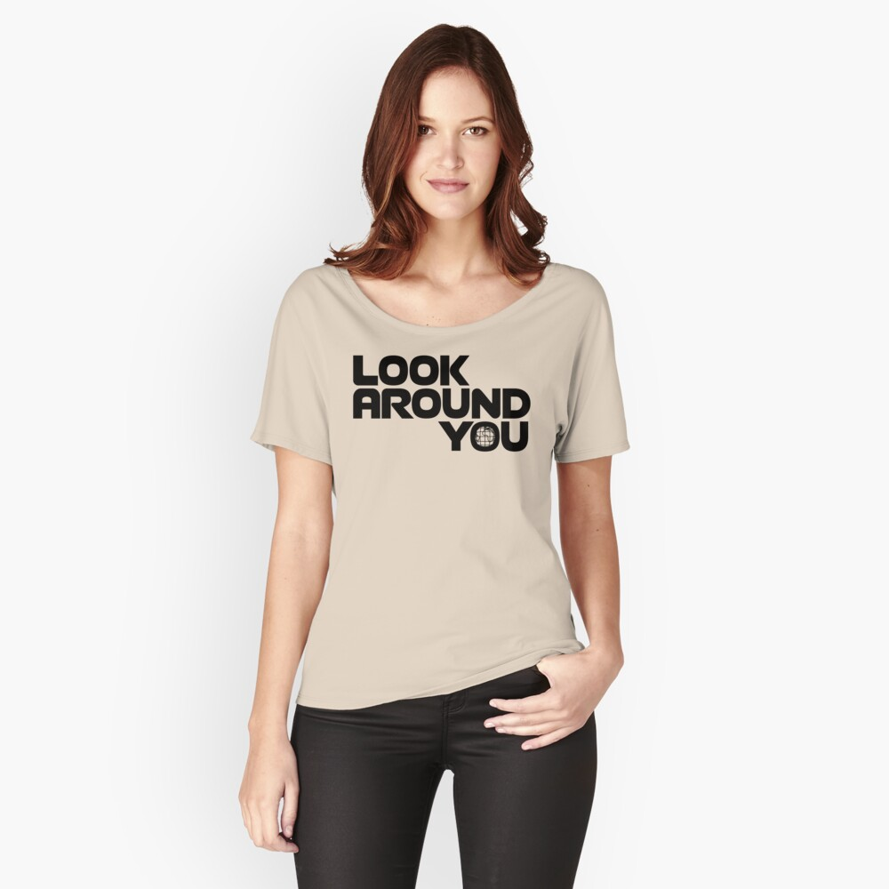 NDVH Look Around You 2 Relaxed Fit T-Shirt