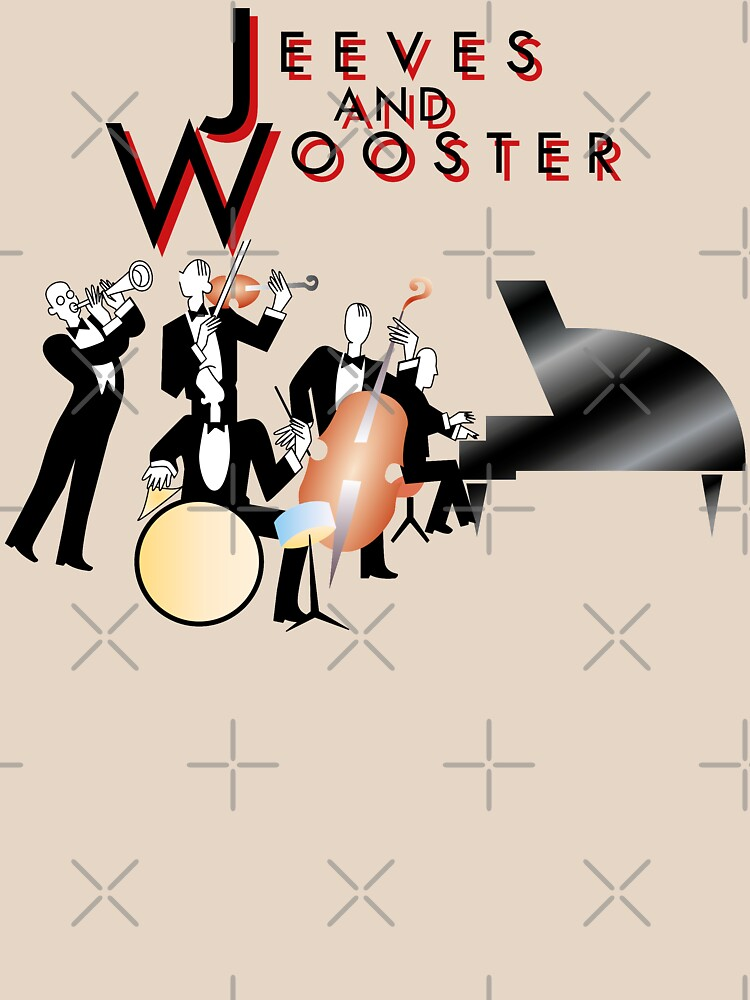 NDVH Jeeves and Wooster by nikhorne