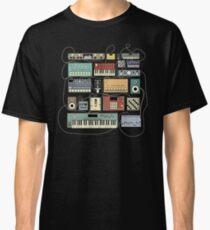 Elektronischer Musiker Synthesizer und Drum Machine Dj Classic T-Shirt