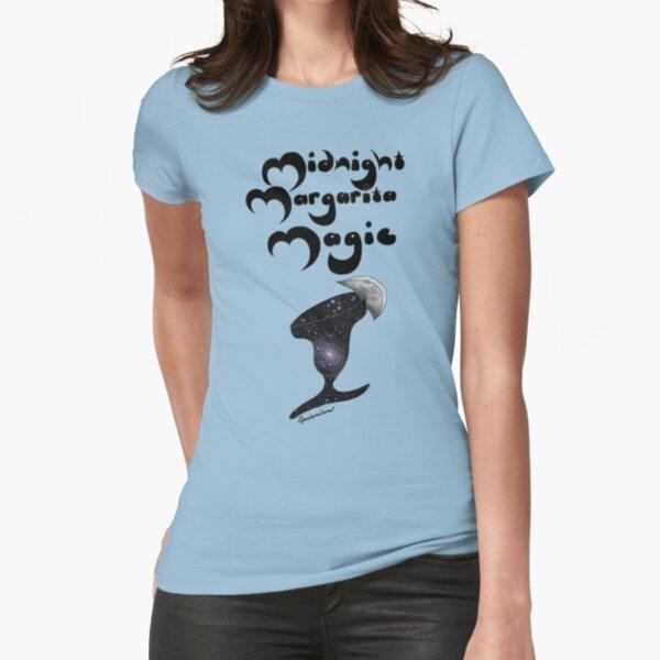 Midnight Margarita Magic Fitted T-Shirt