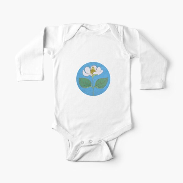 Starseed Flower Long Sleeve Baby One-Piece