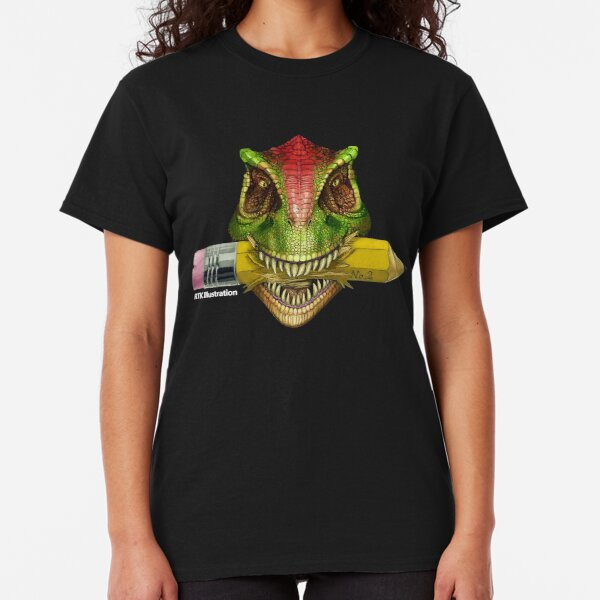 Dino Art Crunch Classic T-Shirt
