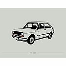 Fiat 147 by bcalmon
