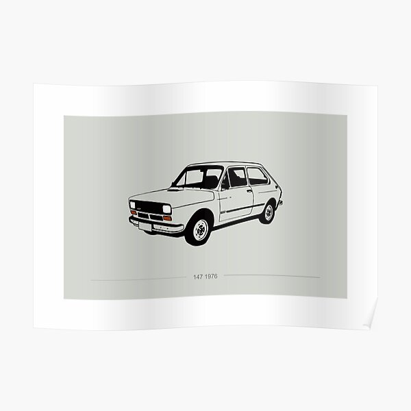 Fiat 147 Poster