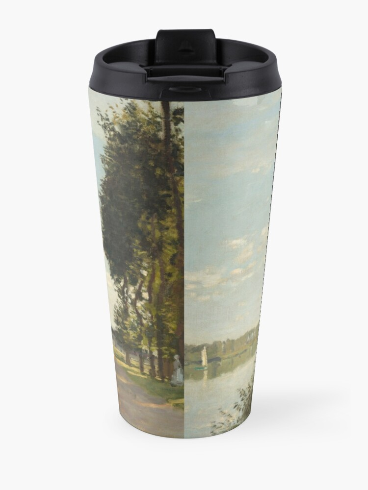 Alternate view of Argenteuil by Claude Monet Travel Mug