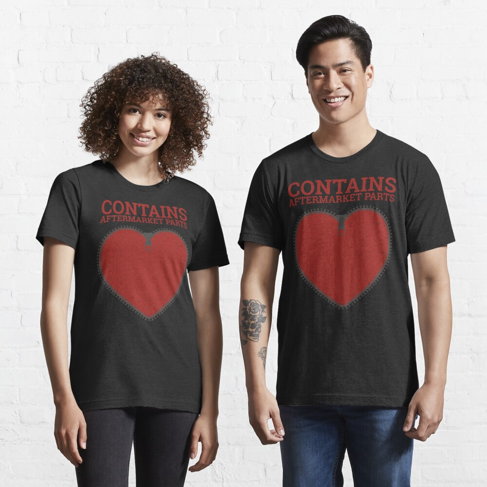 Zipper Club Member  Contains Aftermarket Parts Open Heart  design Essential T-Shirt
