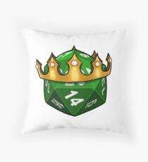 The dork20 Throw Pillow