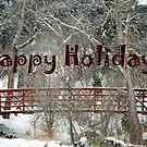 Happy Holidays Card by Carol Barona