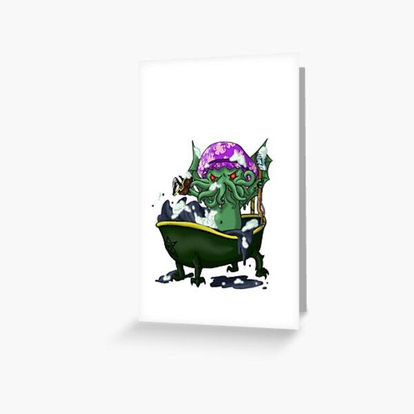 Tubthulhu V. 2 Greeting Card