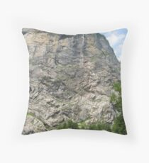 High Rise, Lauterbrunnen, CH Throw Pillow