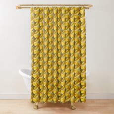Plumeria Shower Curtain